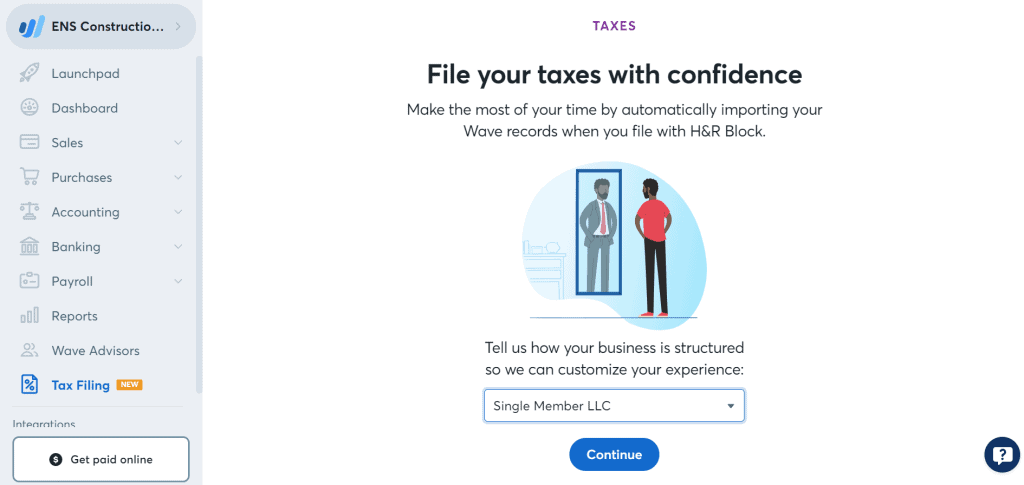 Wave Review Tax Support