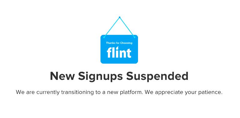 Flint-mobile-shut-down-closing-suspended