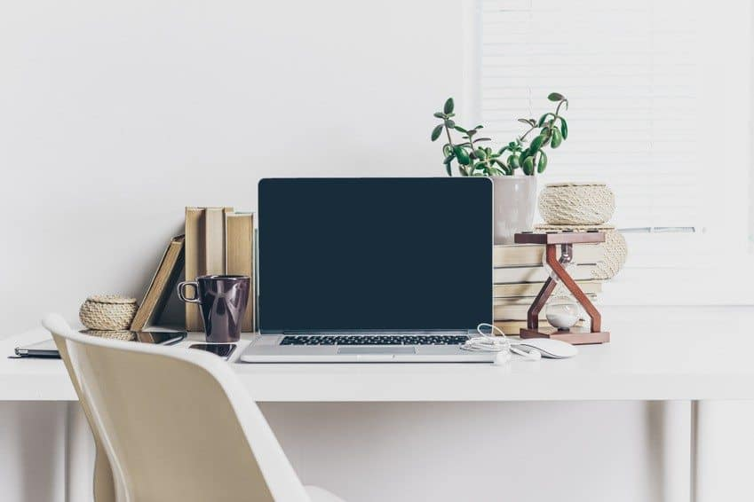 Laptop Work Space