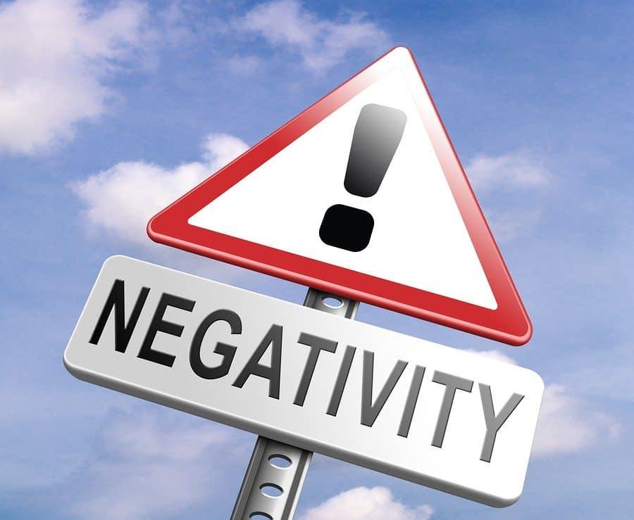 no pessimism stop negativity think positive stop pessimistic tho