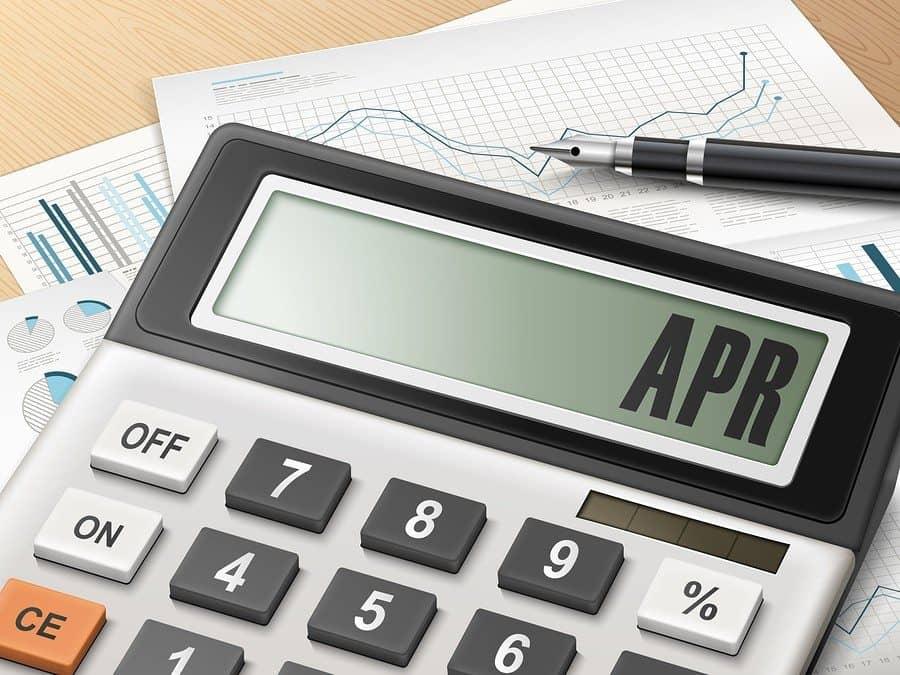 apr annual percentage rate calculate