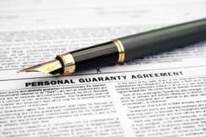 personal guarantee personal guaranty business loan