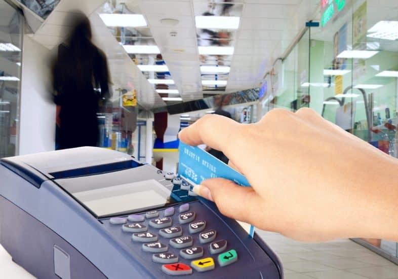 Retail credit card processor