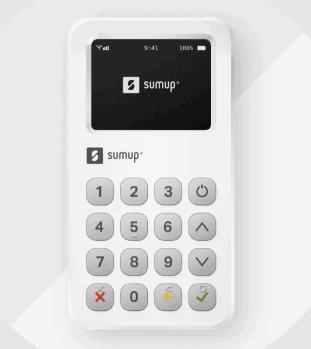 sumup pro card reader