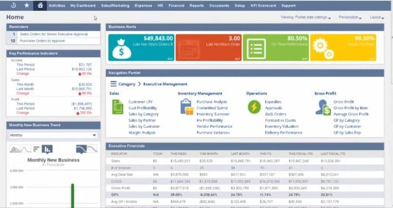 netsuite: best accounting software for enterprises