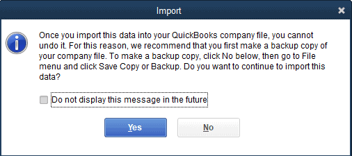 How to Setup your QuickBooks Pro Account