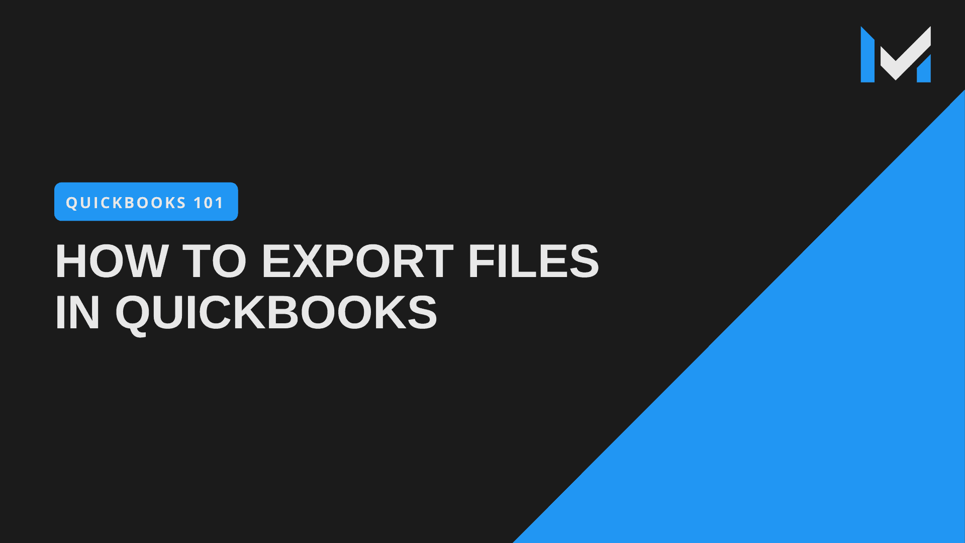 How To Export Files From QuickBooks Pro