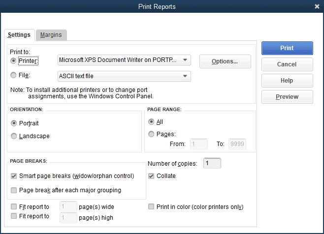 How To Run Reports In QuickBooks Pro