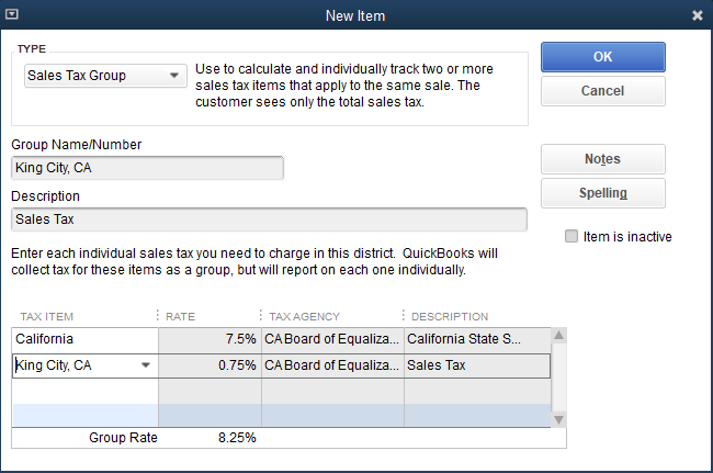 How To Add Sales Tax In QuickBooks Pro