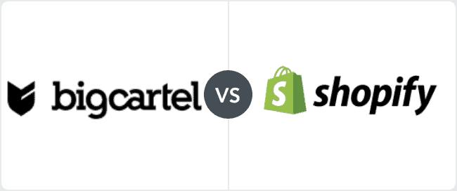 Big Cartel VS Shopify