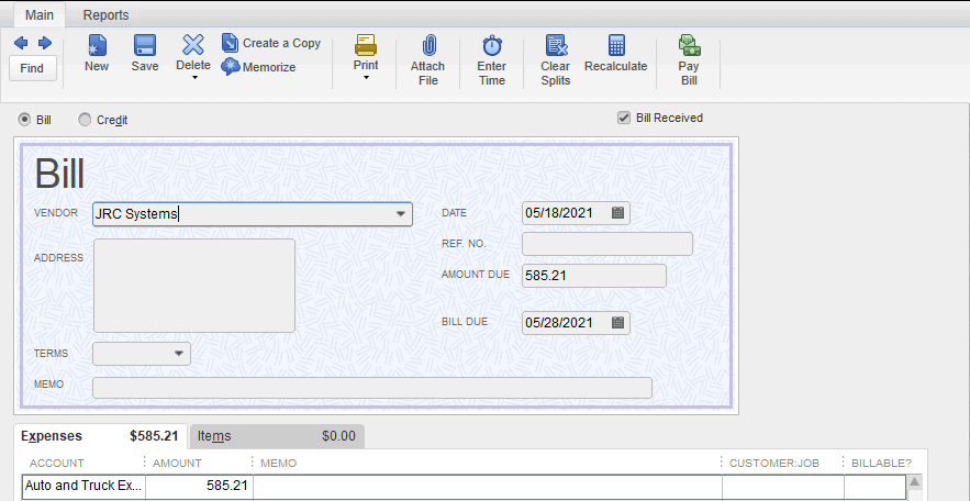 How To Create A Journal Entry In QuickBooks Pro