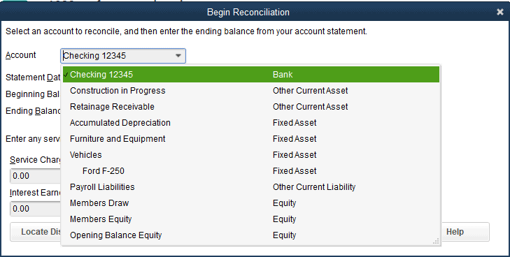 How To Reconcile A Bank Account in QuickBooks Pro