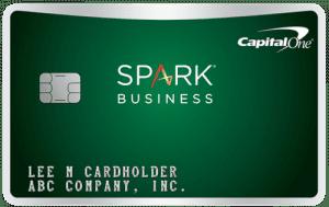 Capital One Spark Cash card