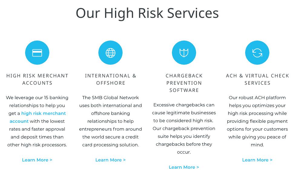 SMB Global's service marketing