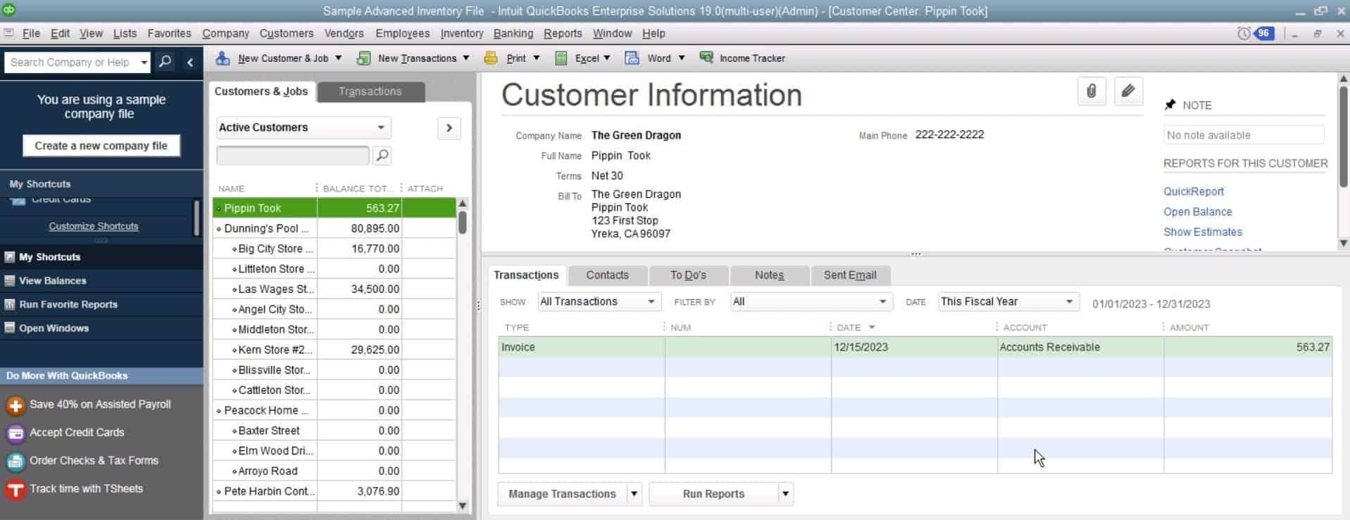 QuickBooks Enterprise Review