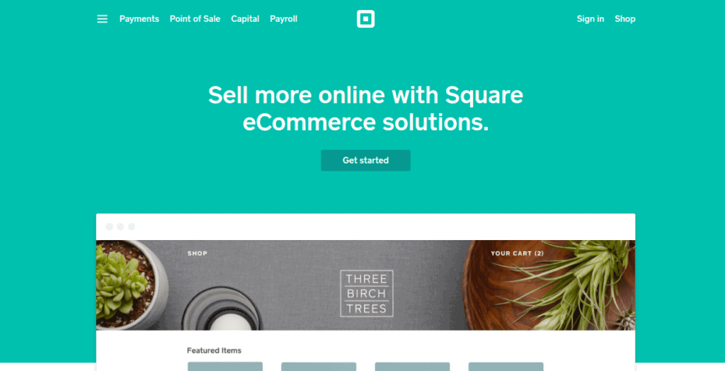 Square for eCommerce