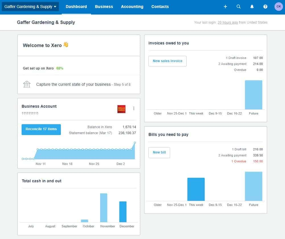 xero: best accounting software for large businesses