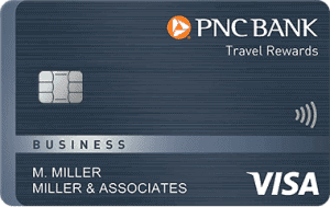 PNC Travel Rewards Visa Business card