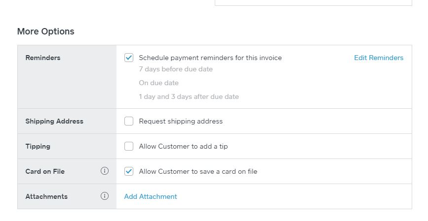 How To Send Square Invoice With Schedule