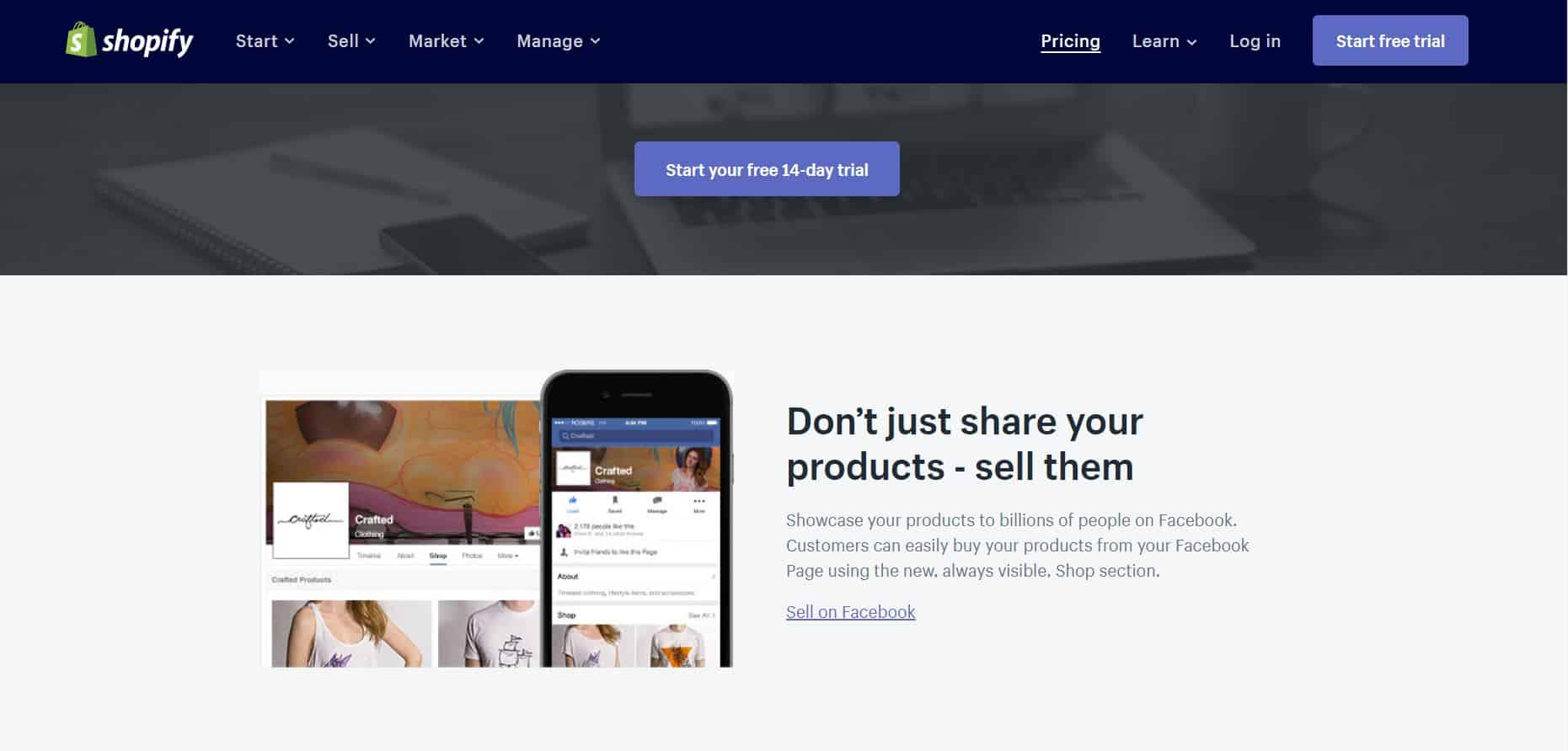 Shopify Facebook Store
