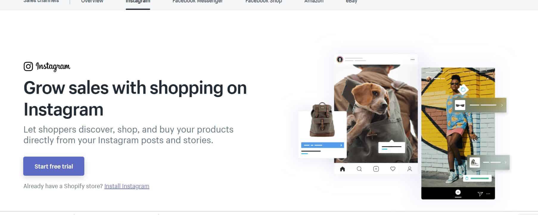 Shopping on Instagram