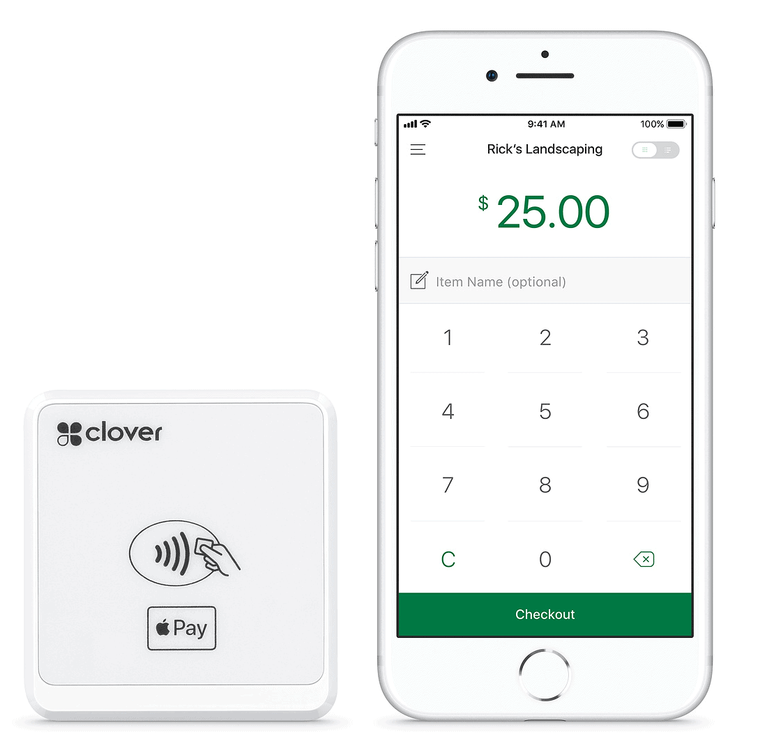 clover go with iphone and apple pay