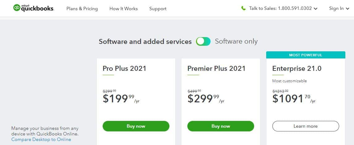 quickbooks holiday deal 2020