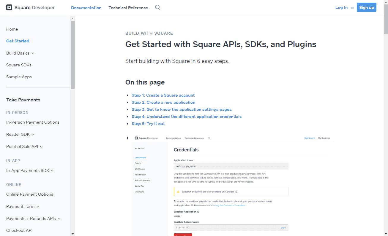 Square Online Store alternatives