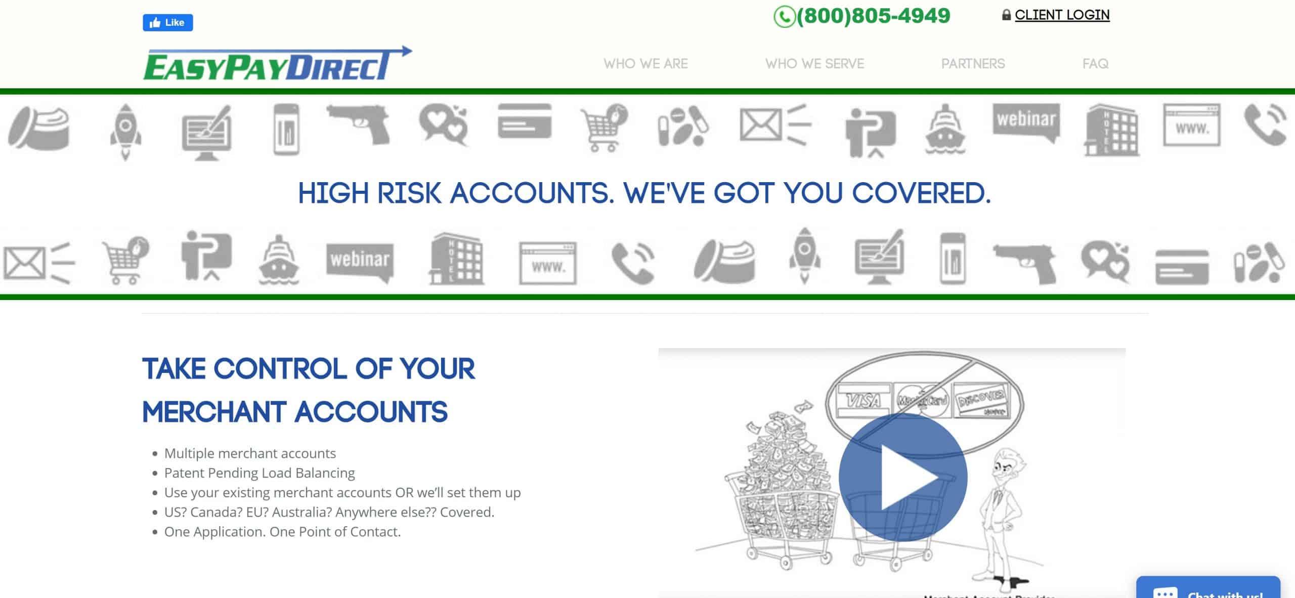 Easy Pay Direct High Risk Screenshot