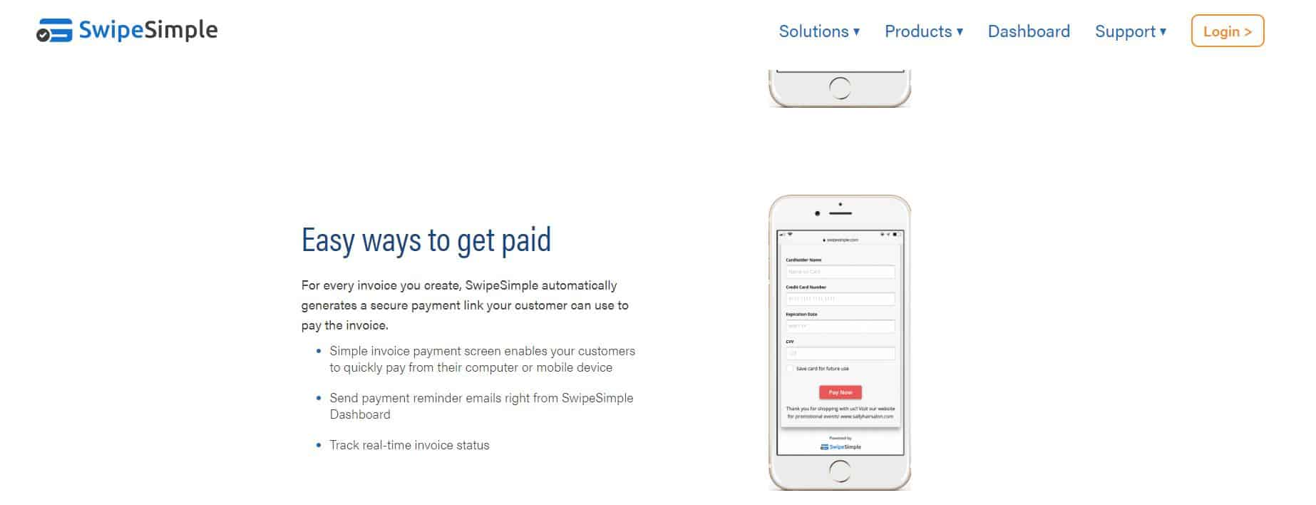Payment Depot Invoicing