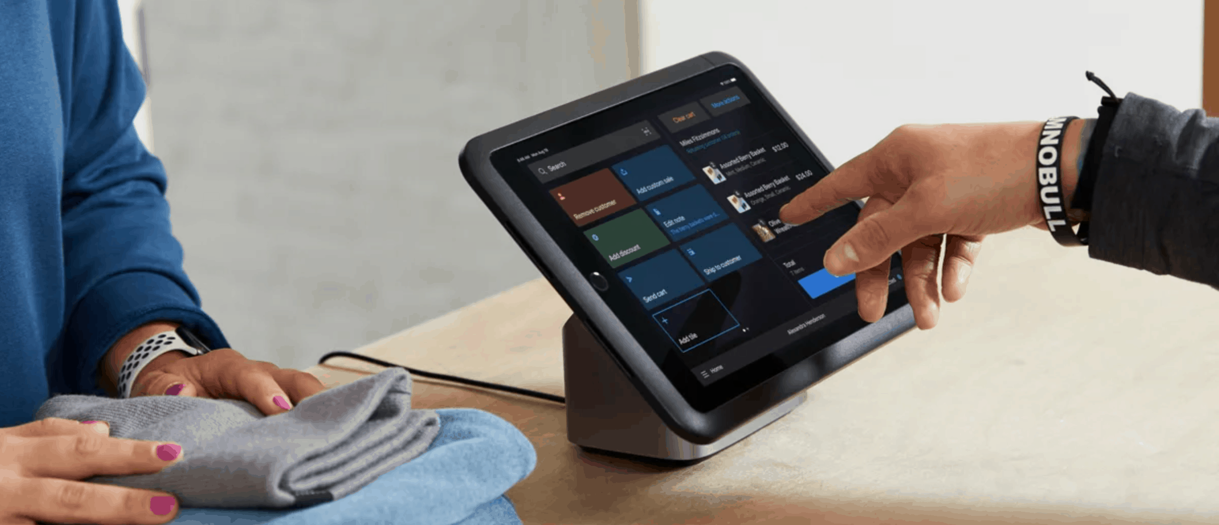Shopify POS new interface