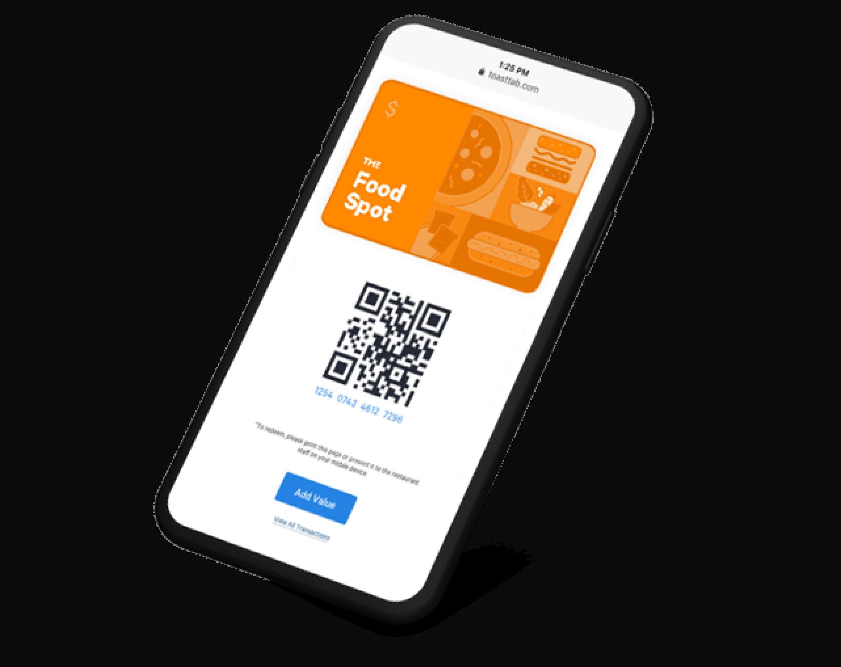 toast digital gift card