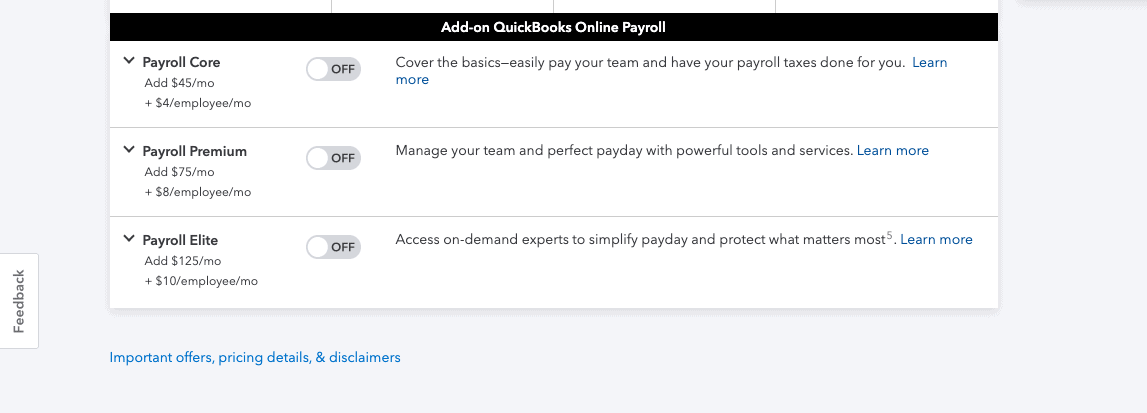 quickbooks vs wave payroll