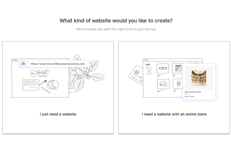 Screengrab showing how to build a Weebly website that's set up for eCommerce