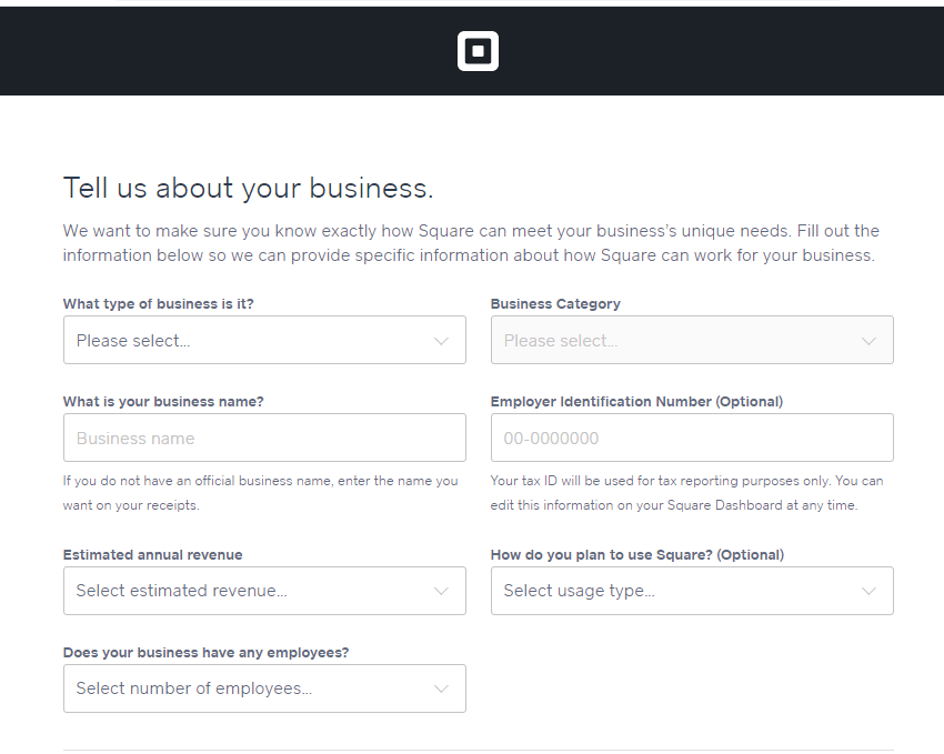 Screengrab showing how to add Square payments to build your Weebly web store