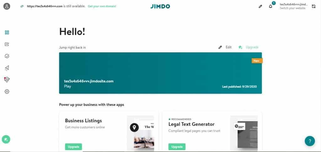 jimdo review