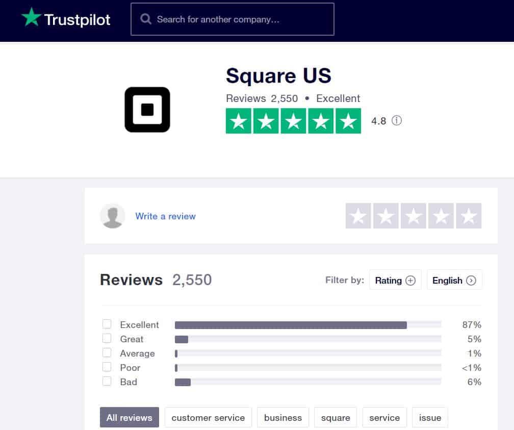 Square Reviews