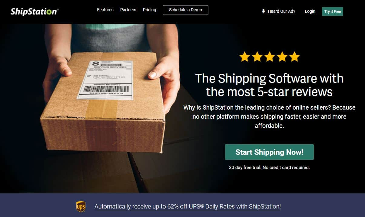shipstation ups shipping discount