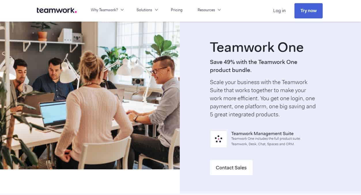 teamwork projects sale 2020
