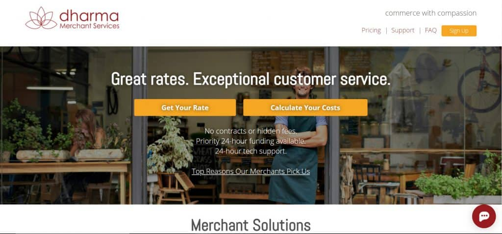 Dharma merchant services reviews