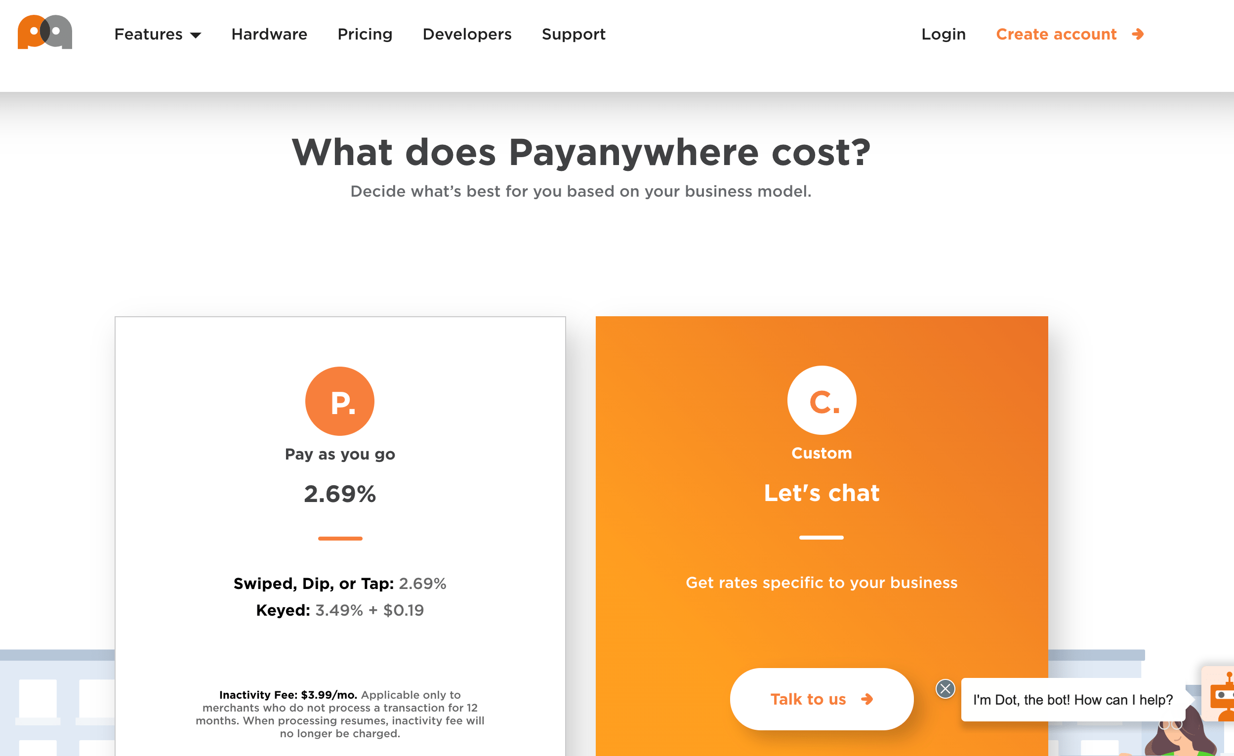 payanywhere pricing page