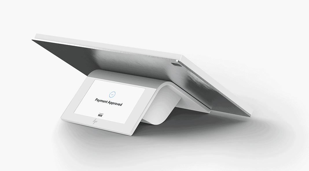 wix pos hp terminal with customer facing display